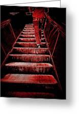 The Escalator Greeting Card
