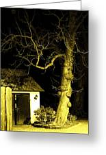 The Escape Door Greeting Card by Sharon Costa