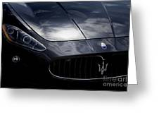 The Essence Of Maserati Greeting Card