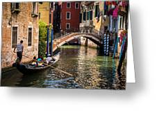 The Essence Of Venice Greeting Card