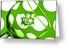 The Eternal Glass Green Greeting Card