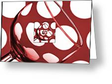 The Eternal Glass Red Greeting Card