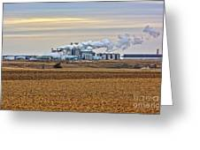The Ethanol Plant Greeting Card