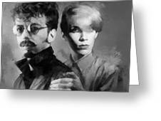 The Eurythmics Greeting Card