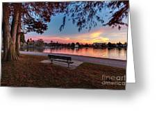 The Evening View Revisited Greeting Card