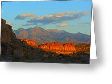 The Ever Changing Beauty Of Monolith Gardens Greeting Card