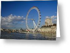 The Eye In London Greeting Card