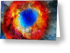 The Eye Of Heaven Greeting Card