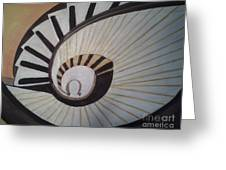 The Eye Of Stairs Greeting Card