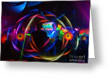 The Eye Of The Rave Greeting Card