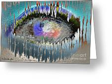 The Eyes 10 Greeting Card