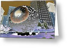 The Eyes 11 Greeting Card