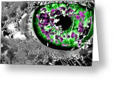 The Eyes 13 Greeting Card