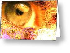 The Eyes 4 Greeting Card