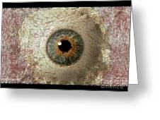 The Eyes 6 Greeting Card