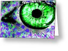 The Eyes 8 Greeting Card