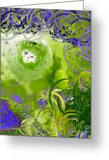 The Eyes Have It Green Greeting Card