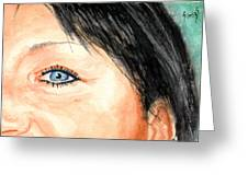 The Eyes Have It - Tami Greeting Card