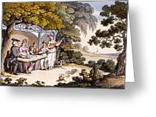 The Fair Penitent, From Ackermanns Greeting Card by English School