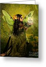 The Fairy Of Clairvoyant Greeting Card