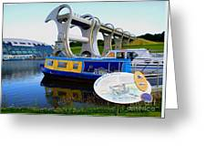 The Falkirk Wheel Greeting Card