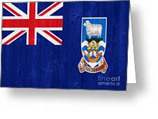 The Falkland Islands Flag Greeting Card