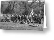The Fallen Civil War Greeting Card