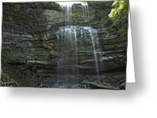 The Falls From Below Greeting Card