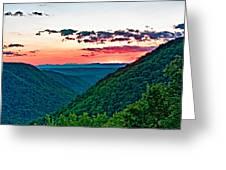 The Far Hills 2 Greeting Card