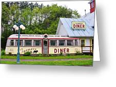 The Farmers Diner In Color Greeting Card