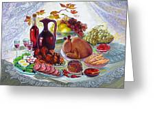 The Feast Greeting Card