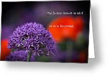 The Feature Greeting Card