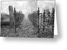 The Fence Greeting Card