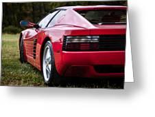 The Ferrari 512 Greeting Card