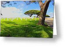 The Final Resting Place Greeting Card by Judy  Waller