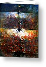 The Fire Of Forest-the Fire Of Heart Greeting Card