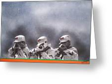 The Firing Squad Greeting Card