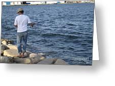 Tunisian Fisherman 3 Greeting Card