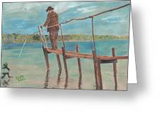 The Fisherman Greeting Card