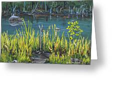 The Fishing Hole Greeting Card