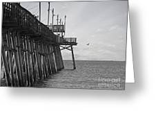 The Fishing Pier Greeting Card