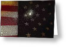 The Flag Was Still There Greeting Card