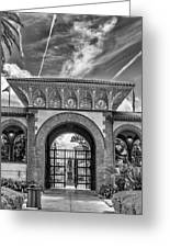 The Flagler College Entrance  Greeting Card