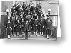 The Flatbush Boys' Club Band Greeting Card