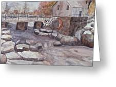 The Flour Mill Greeting Card