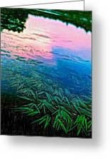 The Flow - Paint Greeting Card