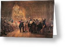 The Flute Concert Greeting Card