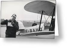 The Flying Ambassador Greeting Card