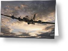 The Flying Fortress Greeting Card