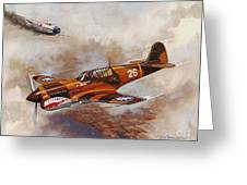The Flying Tigers Greeting Card